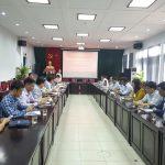 Hội nghị thường kỳ thực hiện việc xét chọn đề tài, sáng kiến năm học 2020 – 2021